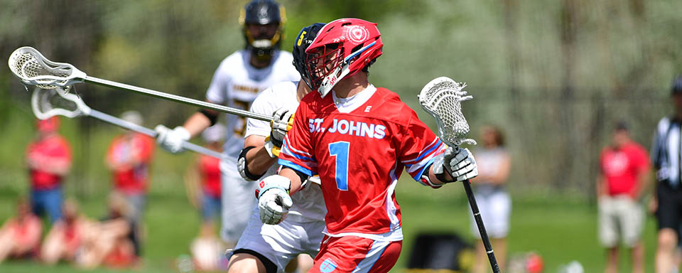 St. John's Posts Only D-II Upset