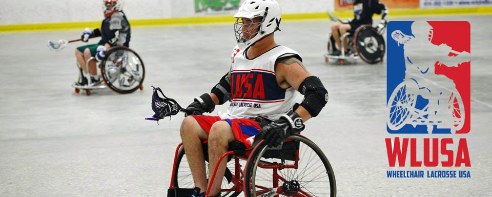 Wheelchair Lax Demo at MCLAs