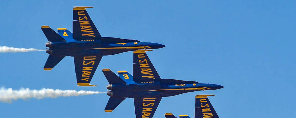 Blue Angels Feature Former A&M Player